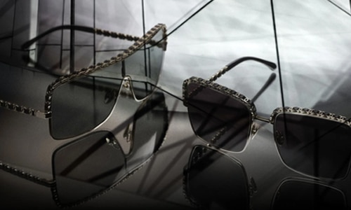 lunettes chanel chaines signature